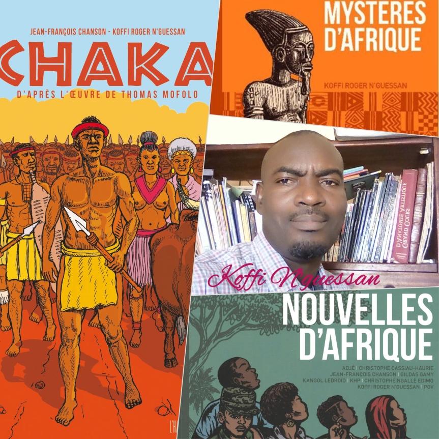 Entretien avec Koffi Roger N'Guessan, bédéiste et illustrateurIvoirien